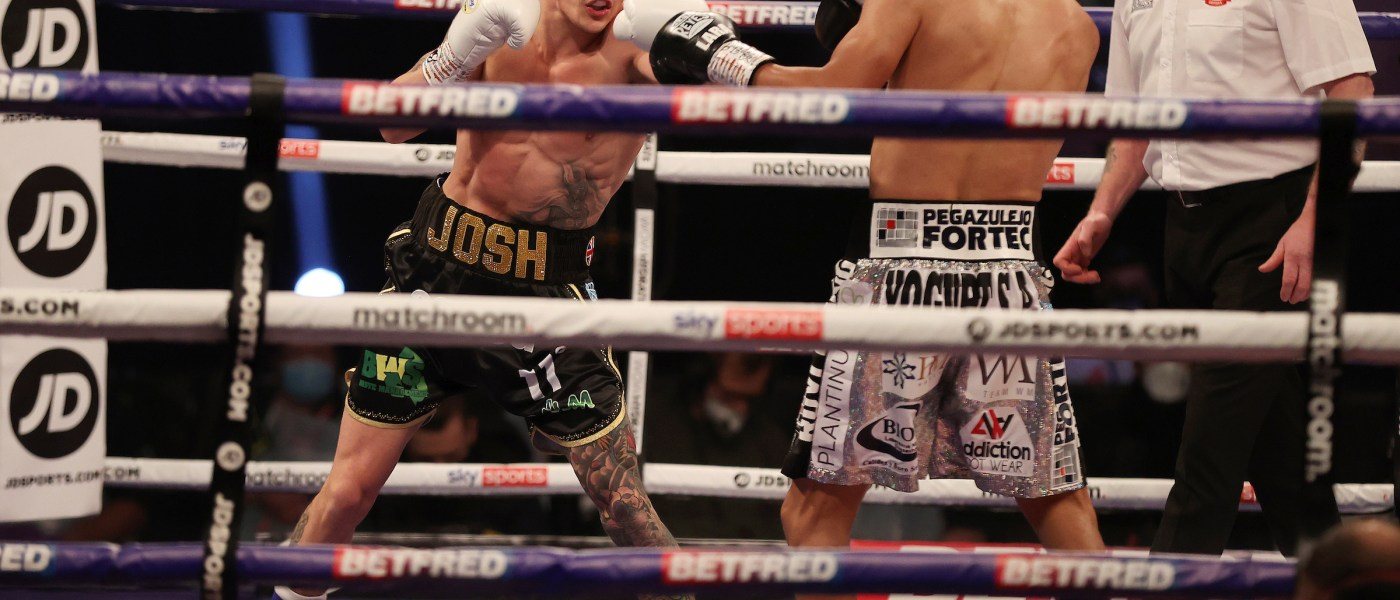 HANDOUT PICTURE COMPLIMENTS OF MATCHROOM BOXING