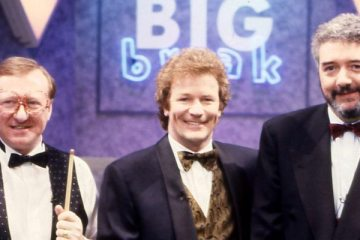 big break hosted by jim davidson is a good example of comedians presenting game shows