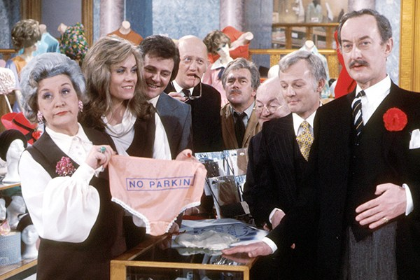 the cast of the bbc tv series are you being served?