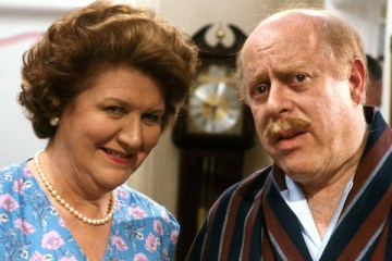clive swift and Patricia Rutledge are keeping up appearances