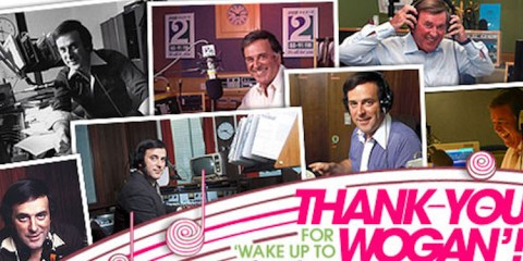 photo montage in tribute to wake up to wogan
