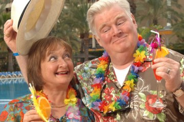 the swinging stewarts from ITV's Benidorm