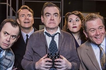 kevin mc nally stars again as Tony Hancock in The New Neighbour as part of the BBC Landmark comedy season