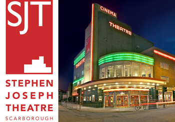 Logo and photo of Stephen Joseph Theatre