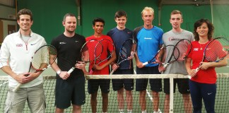 GB Tennis Team Deaflympics 2017