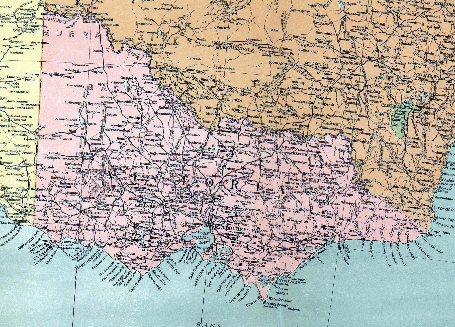 Victorian Empire Map