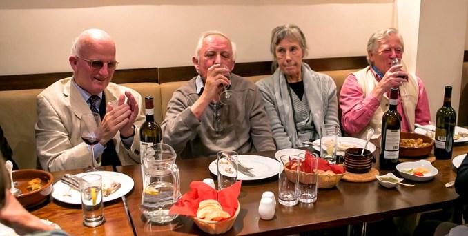 BGS Annual Supra at Tamada Restaurant, October 2019