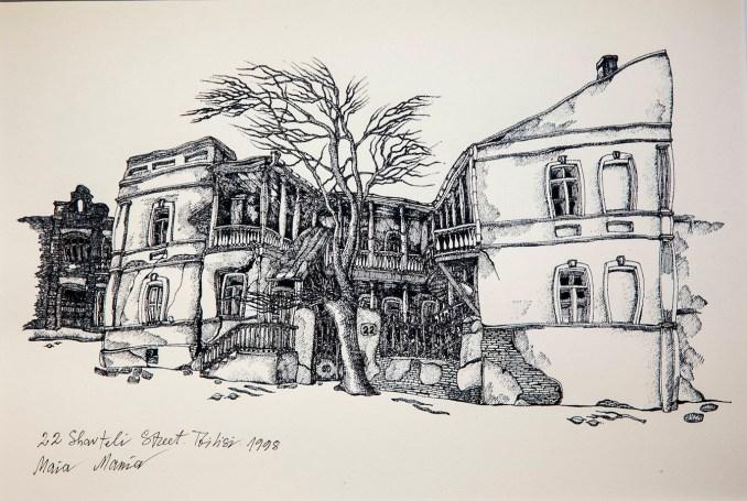Maia Mania historical Tbilisi prints for sale