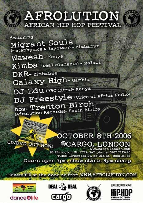 Afrolution Hip Hop Festival