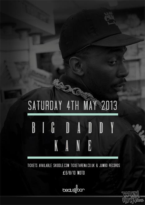 Big Daddy Kane - Intimate Basement Performance, Leeds, May