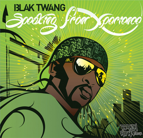 Blak Twang - Speaking From Xperience LP [Abstract Urban]