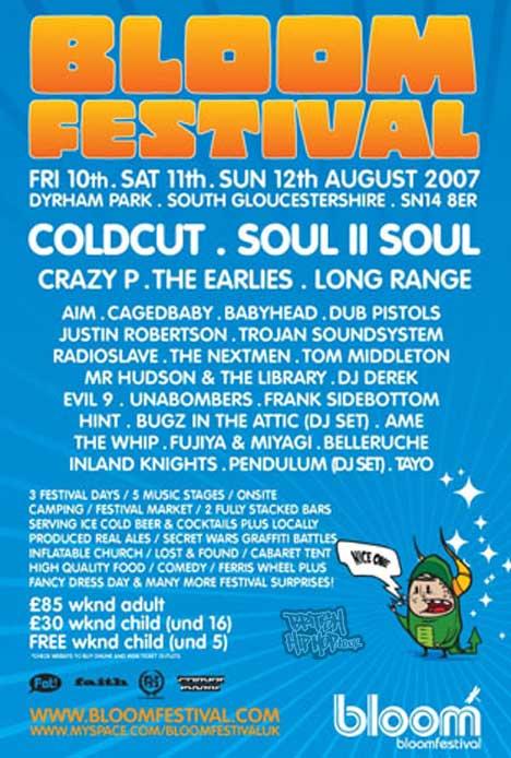 Bloom Festival August 2007