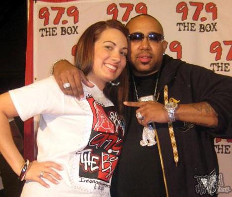DJ Brandi Garcia and Pimp C