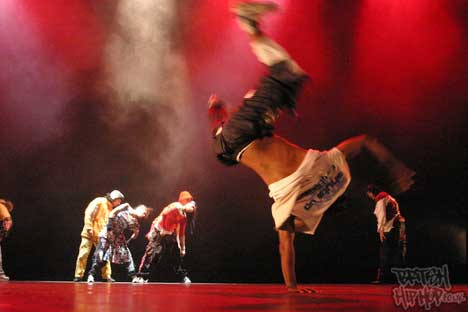 Breakdancing and Hip Hop