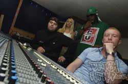 China White and Scorpio in the studio
