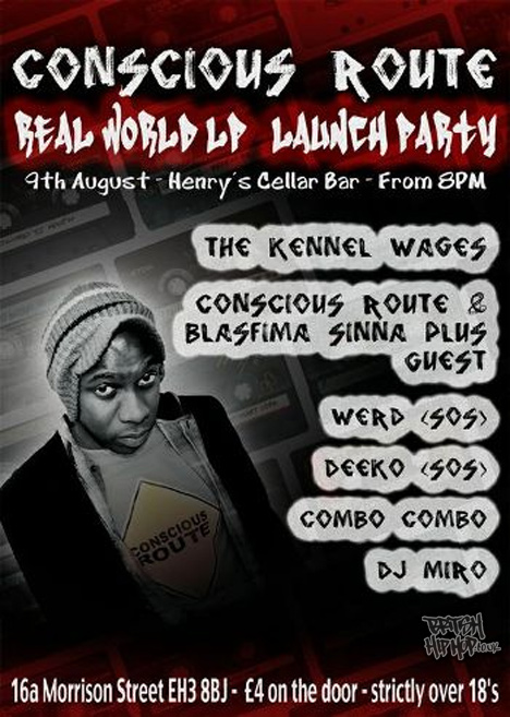 Conscious Route - Real World Launch Party