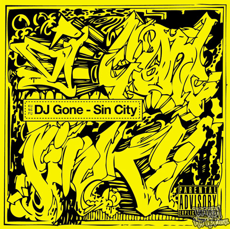 DJ Gone - Sin City Mix CD [Kung Fu]