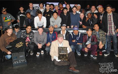 DMC 2012 World DJ Championships Entrants