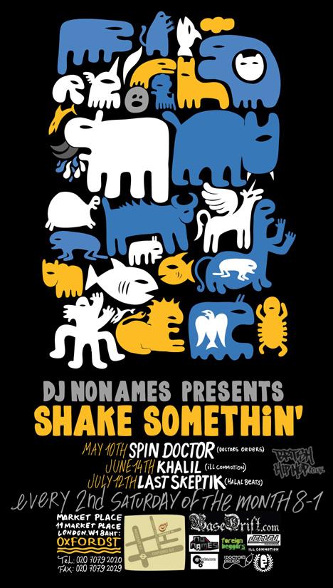 DJ Nonames - Shake Somethin' At Market Place
