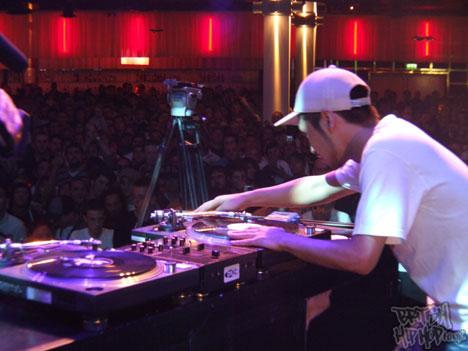 DJ Yasa focussing hard