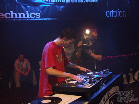 DJ JFB eventually placed fifth