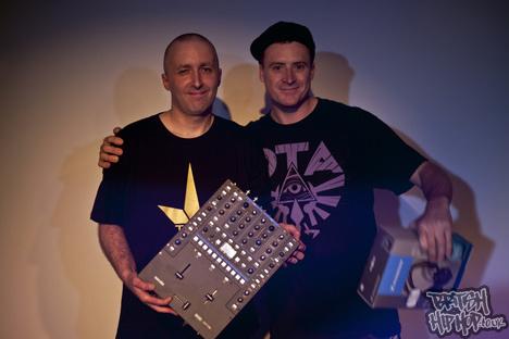 DMC UK DJ Final And Battle For UK Supremacy 2012 Winner Ritchie Ruftone