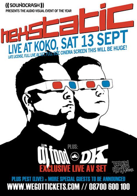 Hexstatic Live At Koko