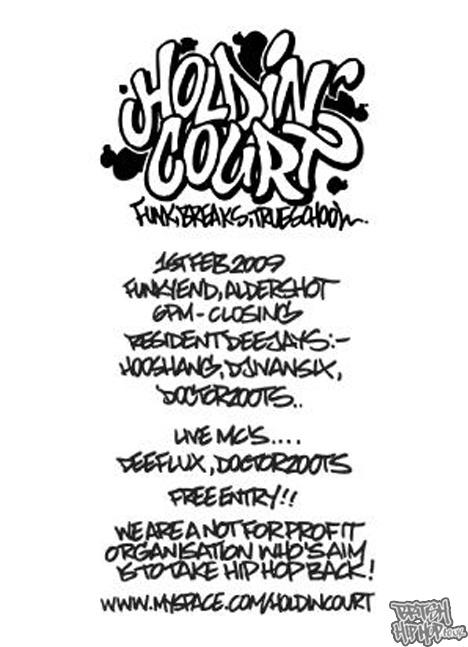 Holdin' Court