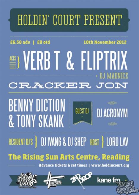Holdin' Court - Fliptrix, Verb-T And DJ Madnice