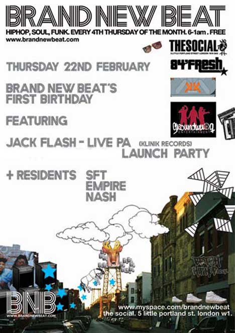 Jack Flash at The Social, W1, February 22