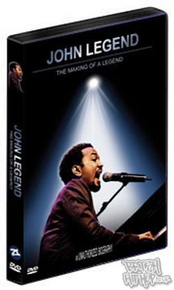 John Legend - The Making Of A Legend DVD [Urban Edge]