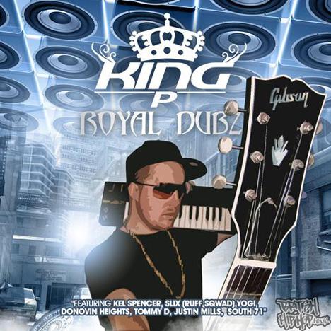 King P - Royal Dubz LP [Touchstone Records]