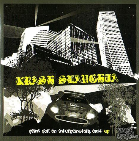 Krash Slaughta - Plans For An Interplanetary Burst EP [Dropzone]