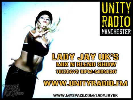 Lady Jay UK: Mix And Blend Radio Show