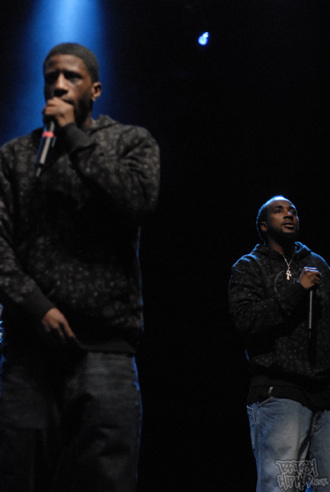 Method Man And Redman At Shepherds Bush Empire - M9 And Cyrus Malachi