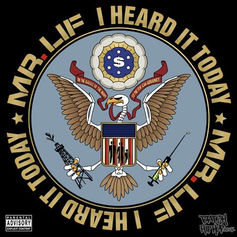 Mr Lif - I Heard It Today LP [Bloodbot Tactical Enterprises]