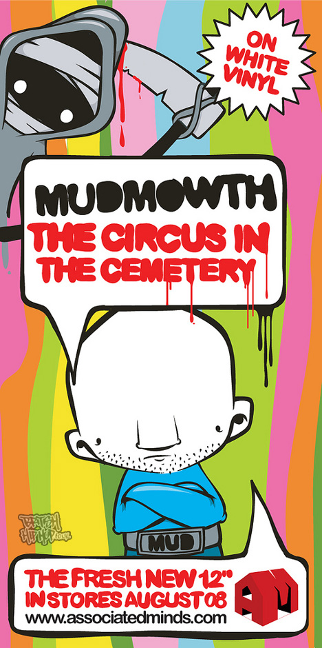 "Mudmowth - Circus In The Cemetery 12"" [Associated Minds]"