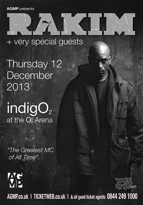 Rakim - Live in Concert 12th December