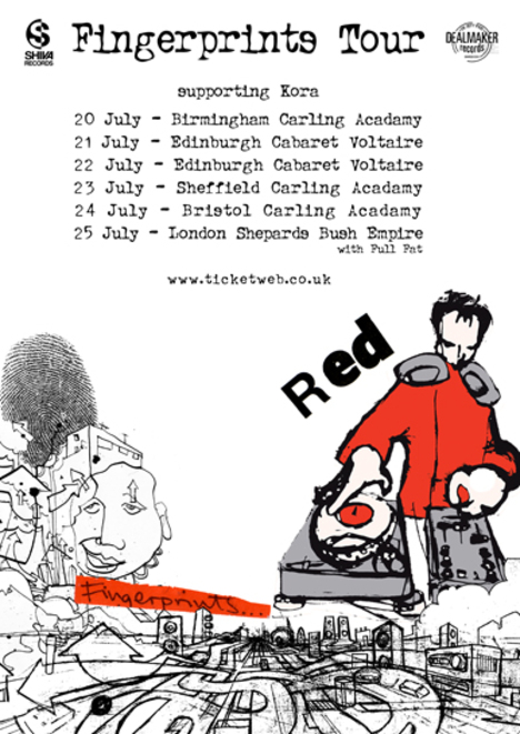 Red July Tour Confirmed