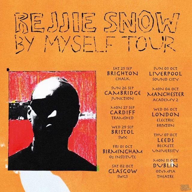 Rejjie Snow Announces 'By Myself' UK And Ireland Tour For Autumn 2021