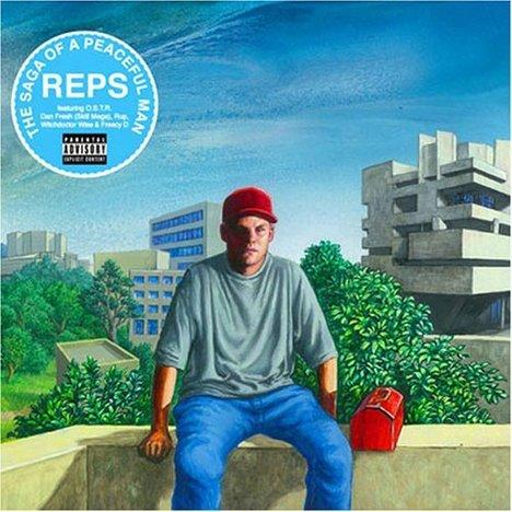 Reps - Saga of a Peaceful Man CD [Flash Fry Records]