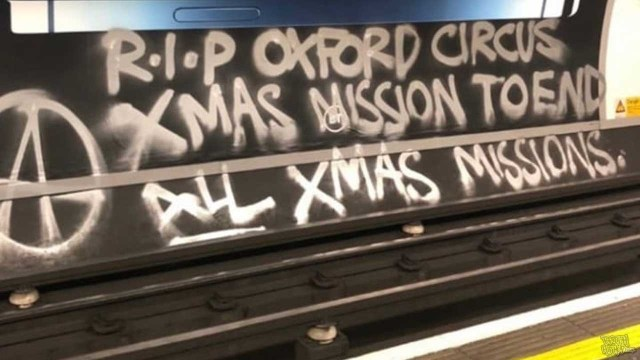 Oxford Circus Bombed - RIP Oxford Circus