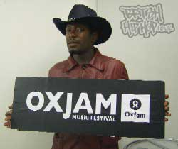 Roots Manuva: Stars Speak Out In Support Of Oxfam's Month Of Music