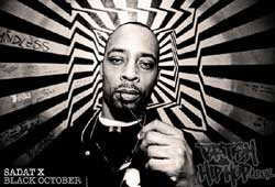 Sadat X Returns With Black October