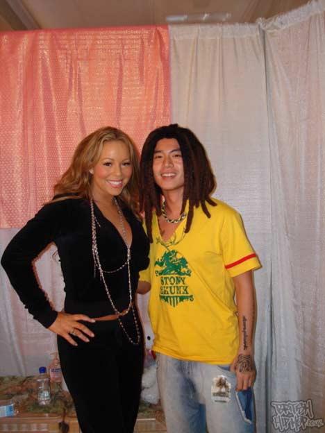 Skull and Mariah Carey