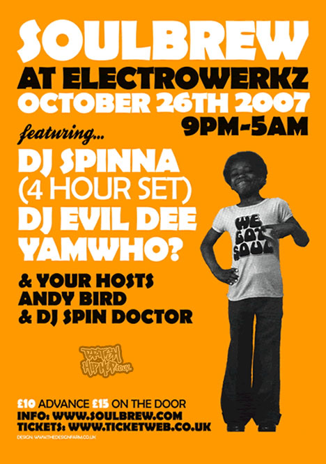 Warehouse Party with DJ Spinna & Evil Dee