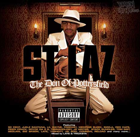 St. Laz - The Don Of Pottersfield (Mixed by Late & Tricksta) CD [Wolftown]