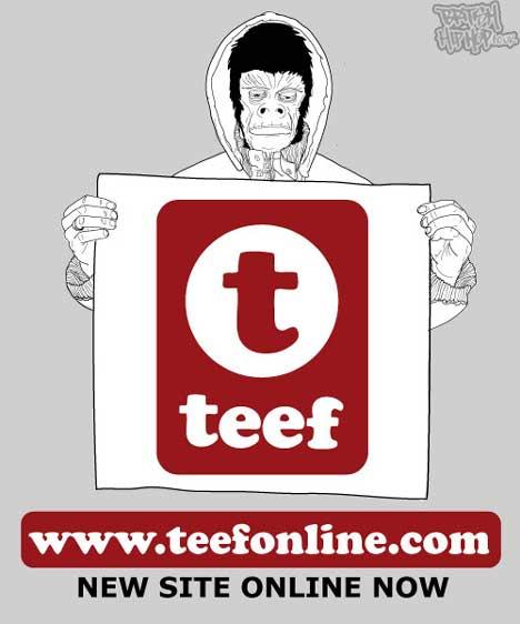 New Teef Website Online Now