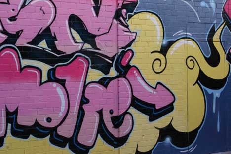 Controversial Graffiti Returns To Tyneside - The Art Works Galleries