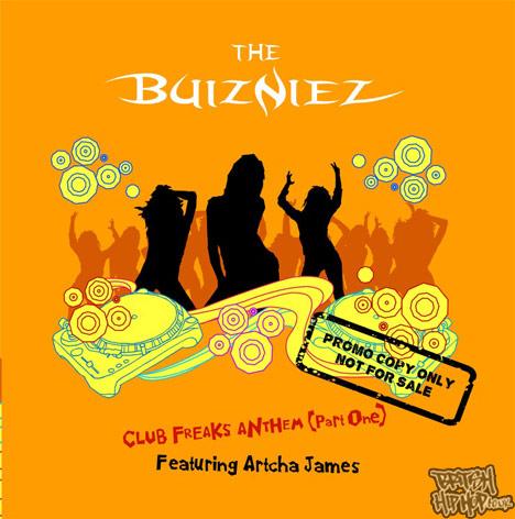 The Buizniez - Club Freaks Anthem (Part One) CD [Moriola]